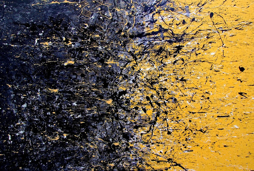 Dipinto su tela buchi neri e macchine del tempo for Quadri astratti immagini