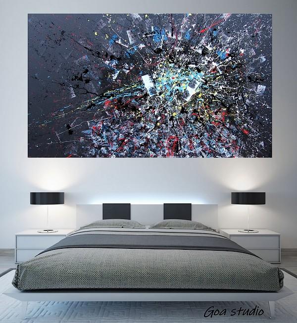 L\'alba di una nuova vita - Goa vendita quadri moderni online
