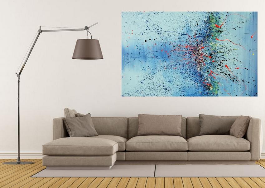 Life vita goa quadri moderni for Tele dipinte a mano moderne