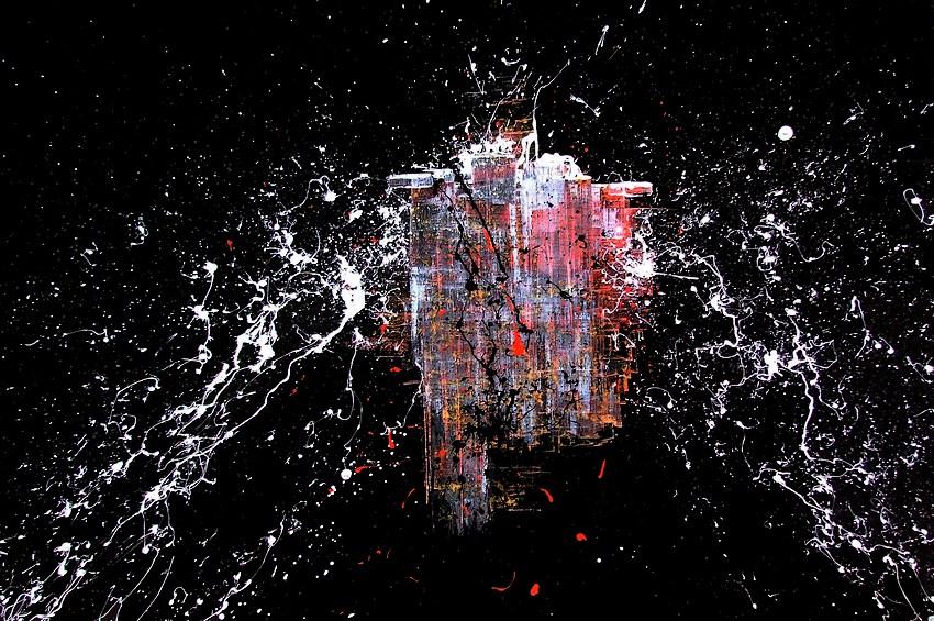 I quadri moderni del pittore goa collezione anno 2017 for Tele astratte dipinte a mano
