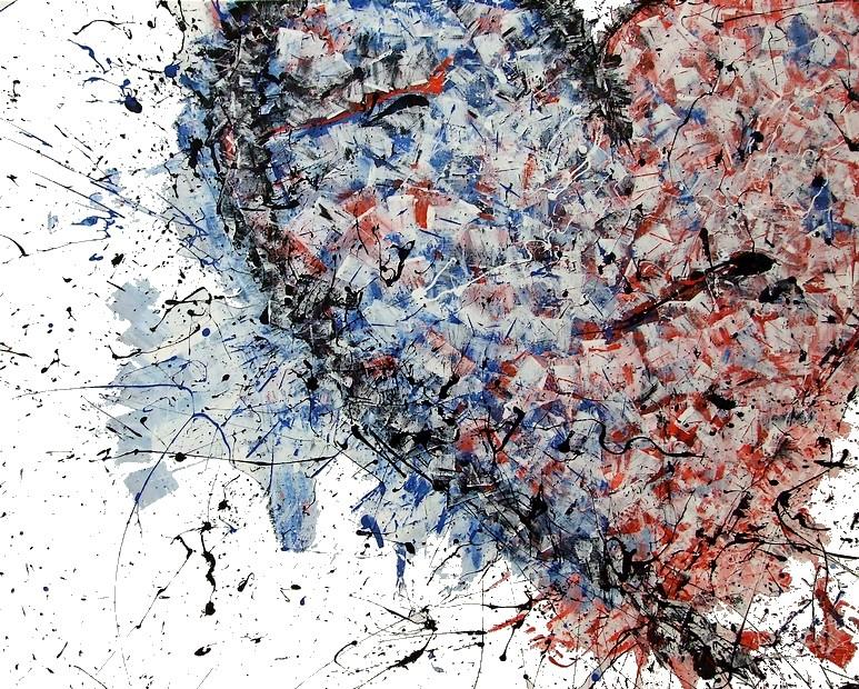 Un amore stupefacente goa quadri moderni for Dipinti a mano su tela