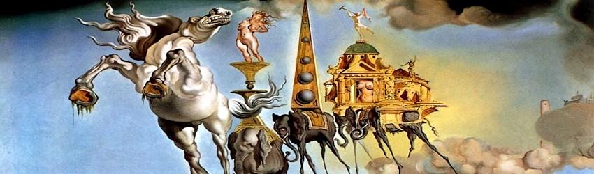 Omaggio a salvador dal il genio del surrealismo for Quadri illusioni ottiche