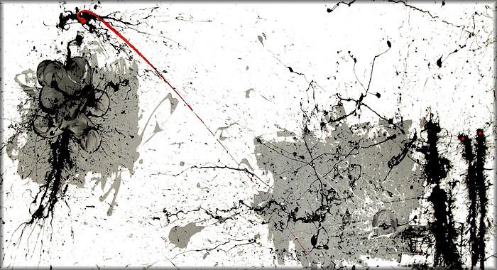 I quadri astratti,la critica e l\'action painting